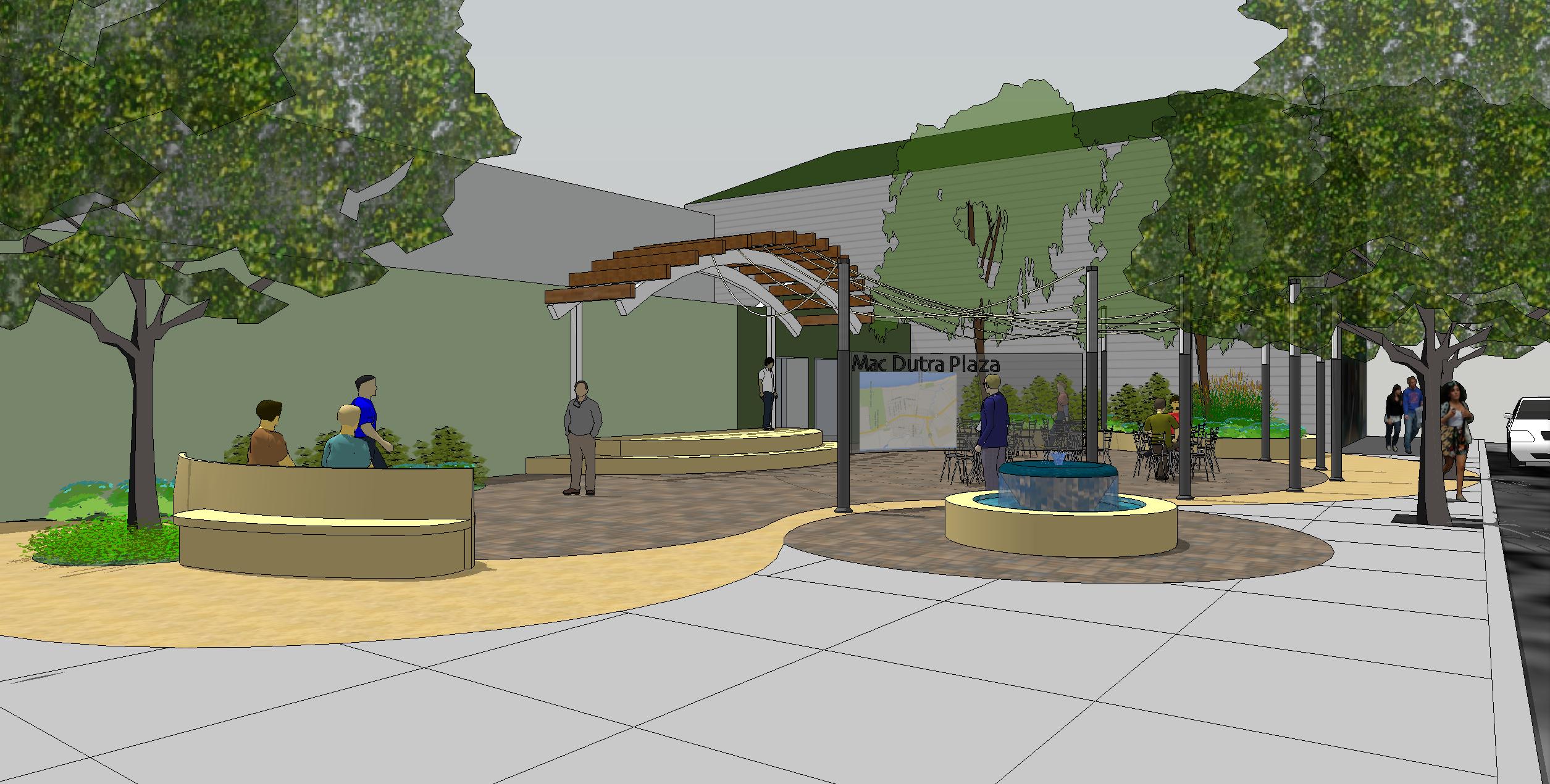 Very MacDutra Plaza - Half Moon Bay, CA - Kikuchi + Kankel Design Group FU28